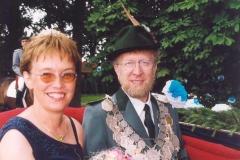 1999/00 Königspaar Franz und Margret Espelage