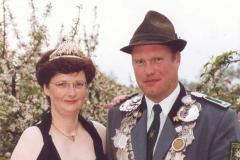2001/02 Königspaar Hans-Heinrich und Mechthild Klöker