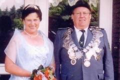2002/03 Königspaar Heinz und Christa Arlinghaus