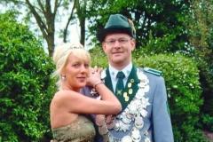 2003/04 Königspaar Georg und Petra Blömer