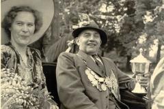 1950 Königspaar Clemens und Elisabeth Middendorf