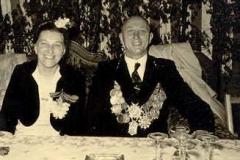 1950/51 Königspaar Josef und Elisabeth Tönjes