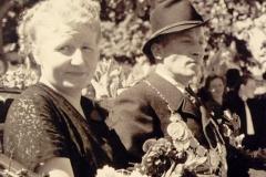 1952/53 Königspaar Helmut und Maria Kamphaus
