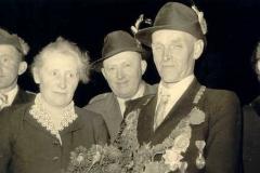 1956/57 Königspaar Heinrich und Maria Blömer