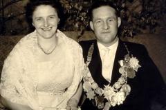 1958/59 Königspaar Theodor und Sefi Pieper