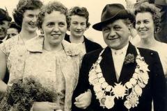 1959/60 Königspaar Richard und Mathilde Schöneich