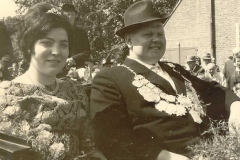 1962/63 Königspaar August und Thea Hinxlage