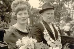 1963/64 Königspaar Robert und Elfriede Wilke