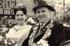 1965/66 Königspaar Heinz und Erika Schütte