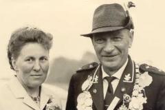 1966/67 Königspaar Heinrich und Alma Ihorst