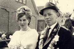 1967/68 Königspaar Werner Grieshop und Anne Ojemann