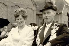 1968/69 Königspaar Karl und Theresia Heitmann