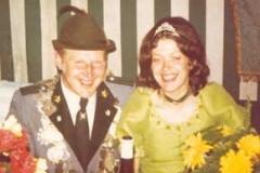 1972/73 Königspaar Franz und Hannelore Blömer