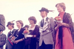 1977/78 Königspaar Hubert und Annette Middendorf
