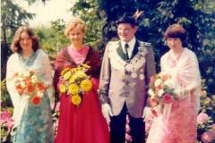 1978/79 Königspaar Josef und Annemarie Blömer