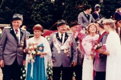 1982/83 Königspaar Bernard und Hannelore Siemer