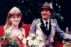 1983/84 Königspaar Josef und Klara Middendorf