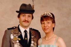 1985/86 Königspaar Ludger und Brigitte Neteler
