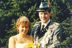 1986/87Königspaar Heinrich und Ursula Ortmann