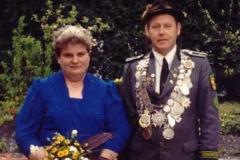 1988/89 Königspaae Clemens und Marianne Reinken