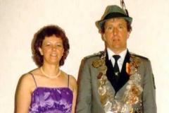 1989/90 Königspaar Otto und Elsbeth Arlinghaus