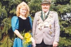 1990/91 Königspaar Karl-Heinz Pieper und Elisabeth Mey