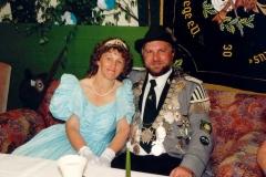1991/92 Königspaar Heinrich und Angelika Landwehr