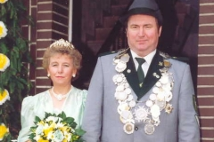 1992/93 Königspaar Alfred Ortmann und Christa Hegger