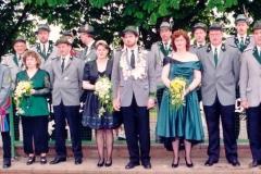 1996/97 Königspaar Dirk und Heike Heitmann