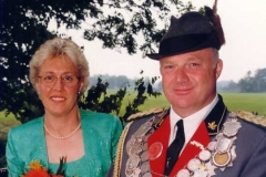 1997/98 Königspaar Franz und Hedwig Pieper