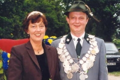 1998/99 Königspaar Hubertus Böckmann und Aloysia Schillmöller