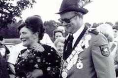 1976/77 Königspaar Hans und Elisabeth Klöker