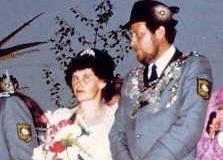 1979/80 Königspaar Willi und Hanni Zumdohme