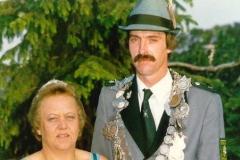 1987/88 König Josef und Irmgard Rissmann
