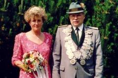 1993/94 Königspaar Bernhard und Agnes Voth